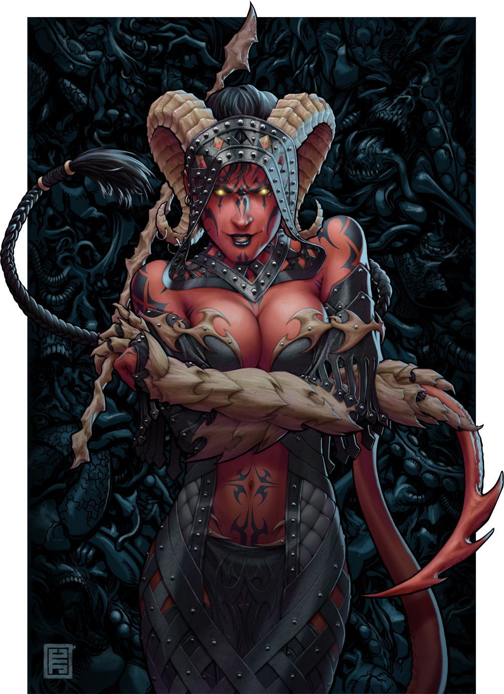 Dungeons and dragons female demons nude hentia photo
